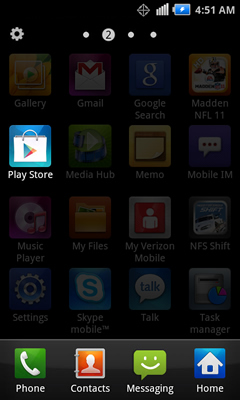 Applications with Play Store