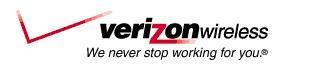 Verizon Wireless. We never stop working for you.®