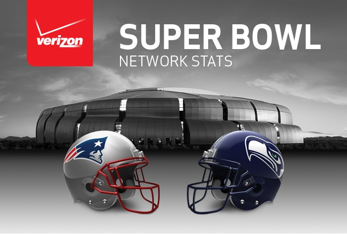Verizon Customers at Super Bowl XLIX Rack Up More than 25 Million Wireless Data Connections