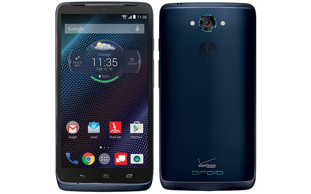 DROID TURBO in Sapphire Blue Ballistic Nylon Now Available