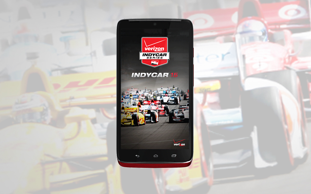 Verizon Customers in the Driver's Seat with the All New INDYCAR 15 App