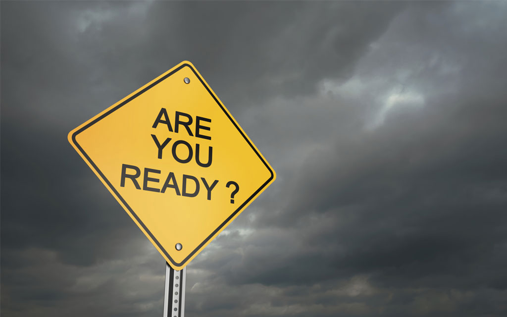 We're ready – can we help you be ready, too?