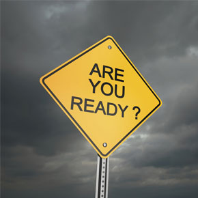 We're ready – can we help you be ready,...