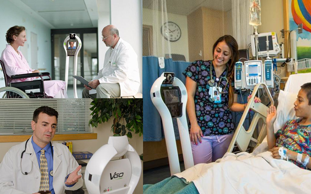 Visiting a Patient from the Other Side of the Earth: the VGo Robot