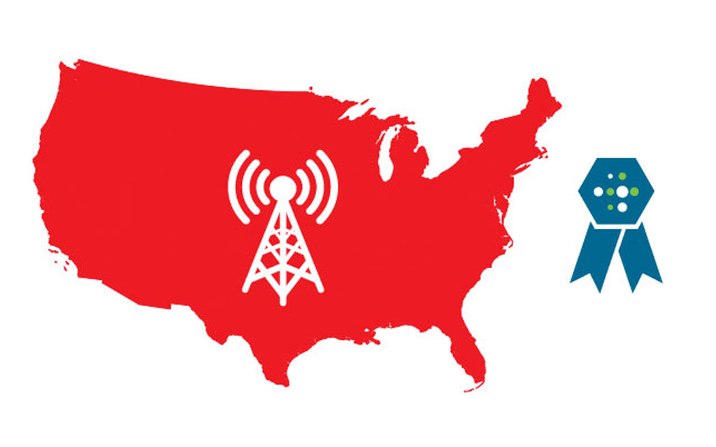 Verizon's Wireless Network Ranked #1 for Overall Performance Nationally by RootMetrics®