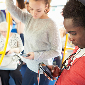 Smart Cellphone Etiquette for Public Transit
