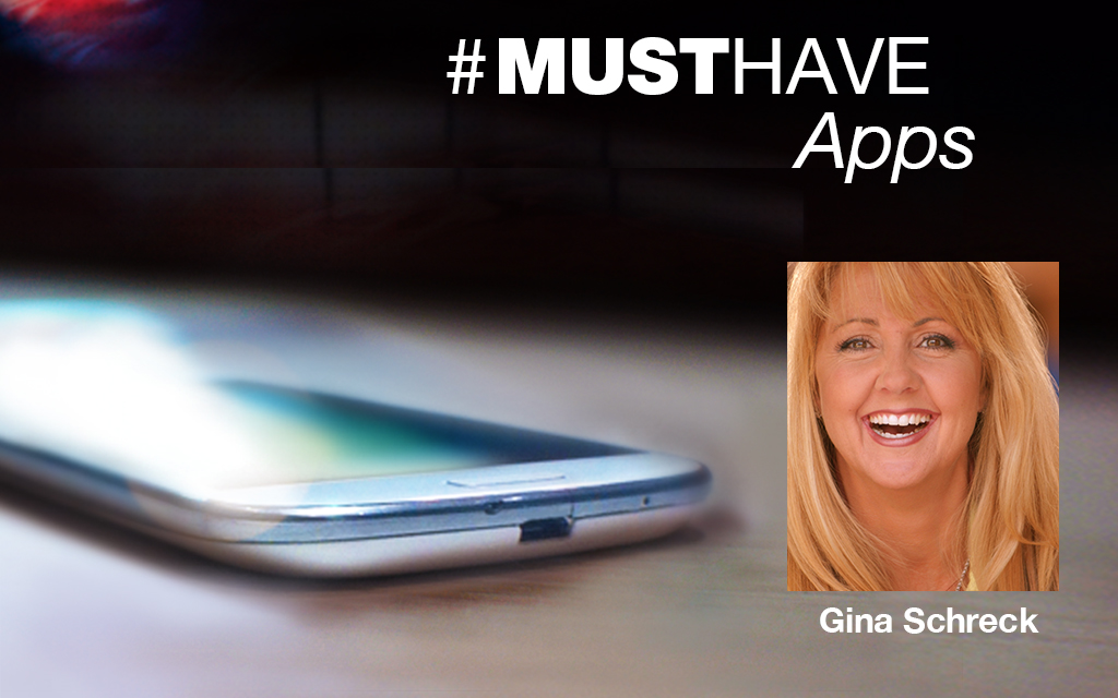 Digital and Social Marketer Gina Schreck's Must-have Apps
