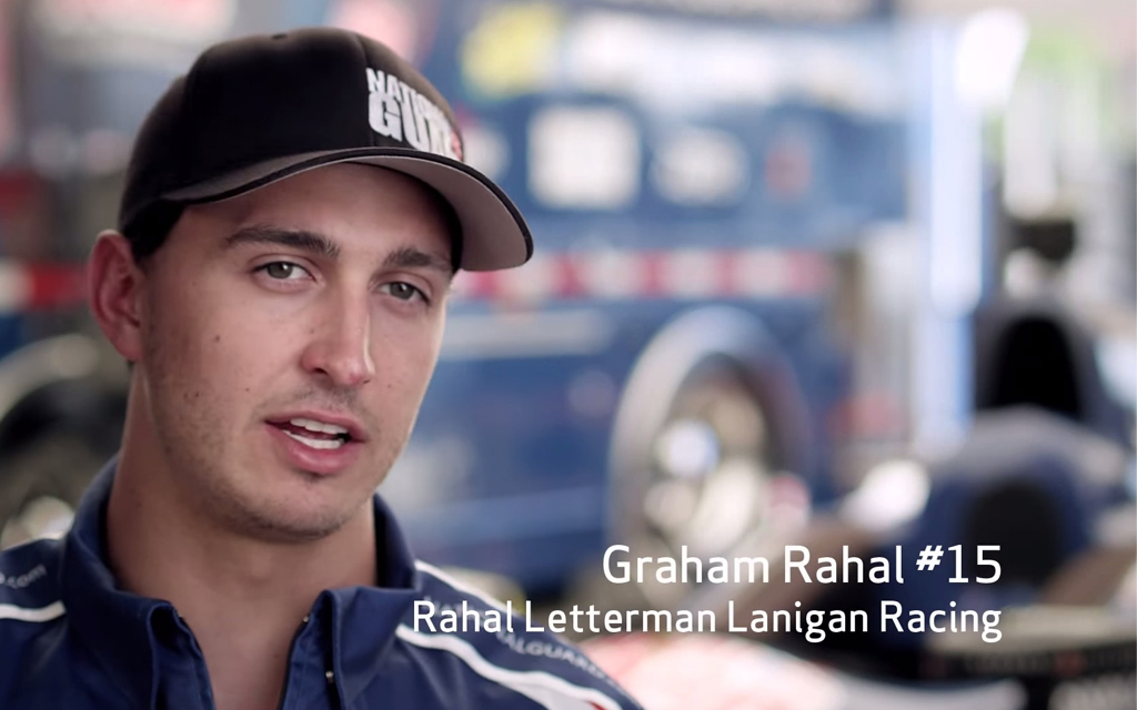 IndyCar's Graham Rahal's Must-have Apps