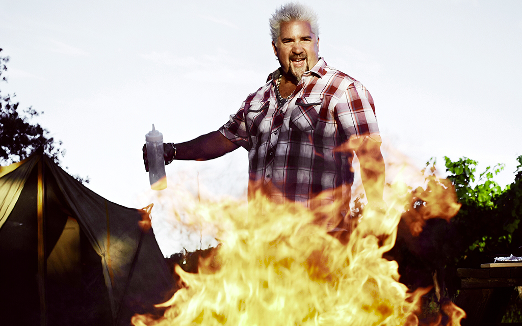 Guy Fieri's Grilling Tips from Guy on Fire