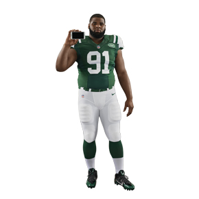 NY Jets Defensive End Sheldon Richardson's Must-have Apps