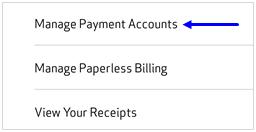 Imagen: captura de pantalla de Eliminar cuentas de pago de MVM