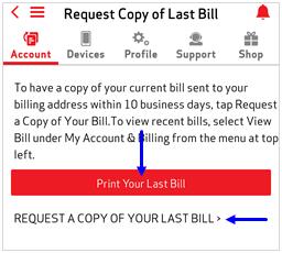 Imagen: captura de pantalla de Solicitar una copia mi factura de MVM