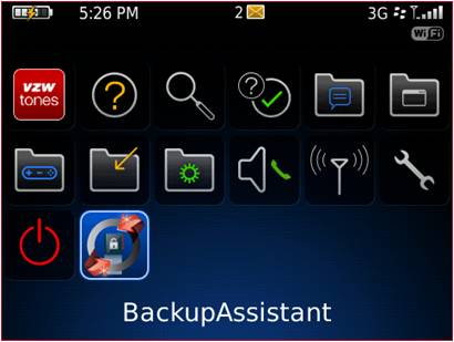 How to get Backup Assistant on BlackBerry devices
