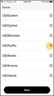Image: Verizon FamilyBase  Change Timezone