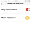 Image: Verizon FamilyBase  Edit Notifications