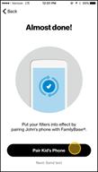 Image: Verizon FamilyBase Pair Your Child's Device