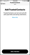 Image: Verizon FamilyBase  Remove a Trusted Contact