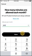 Image: Verizon FamilyBase Set a Call Limit