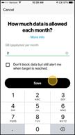 Image: Verizon FamilyBase Set a Data Target