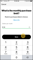 Image: Verizon FamilyBase Set a Purchase Limit