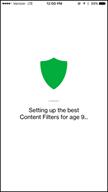 Image: Verizon FamilyBase Set Up Content Filters