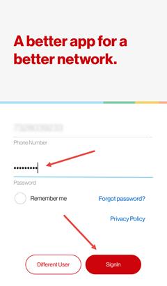 Image: Get the My Verizon app for prepaid screenshot