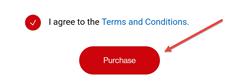 Image: My Verizon app sign up international calling plan screenshot