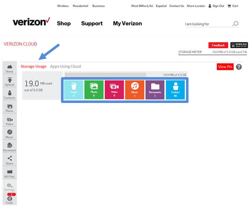 Verizon Cloud How to Use Guide