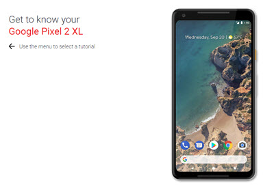 Pixel 2 XL - Support Overview Apps & Widgets on