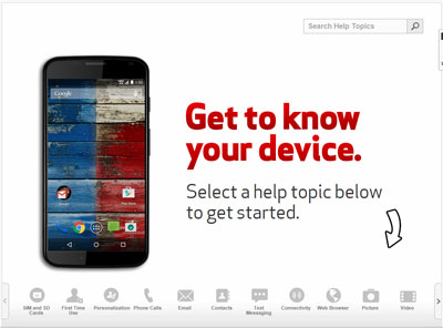 Moto x by motorola support verizon wireless a visual guide on how to return to a call from doing something else like browsing the internet on your moto x by motorola ccuart Choice Image