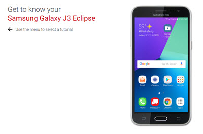 Samsung Galaxy J3 Eclipse | Verizon Wireless