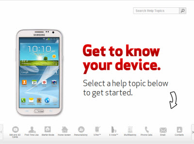 Samsung galaxy note ii support verizon wireless learn how to use your samsung galaxy note ii to call a new number ccuart Image collections