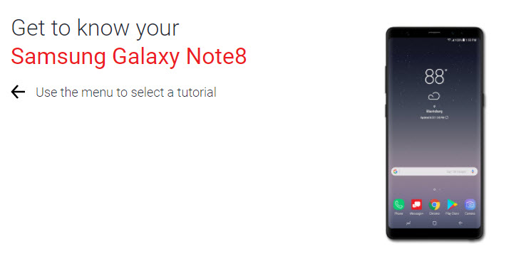 sms tracker for galaxy note 8