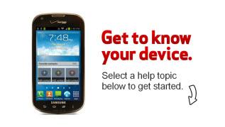 Samsung Galaxy Stellar - Support Overview Apps & Widgets on