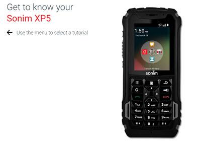 sonim xp5 verizon wireless