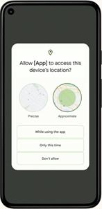 Android OS 12 screenshot