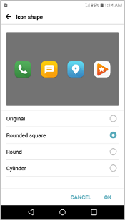 LG G5 Icon Shape screenshot