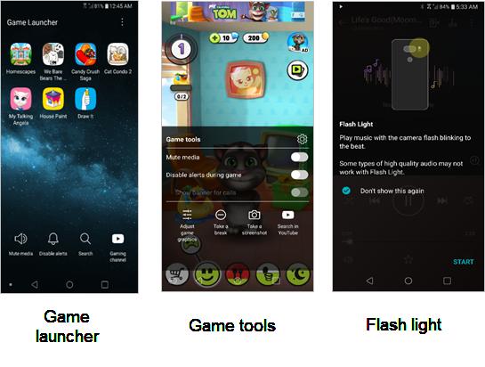 LG G6 Game and Music screenshot