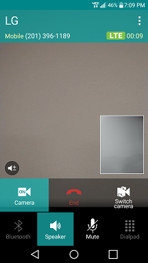 LG V10 Volte Video Calling screenshot