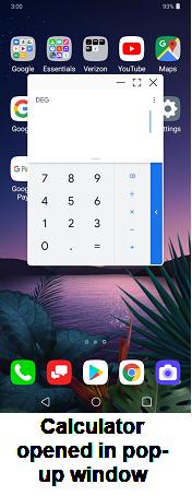 LG V40 ThinQ Night Mode screenshot