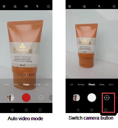 LG V50 Camera Enhancements screenshots