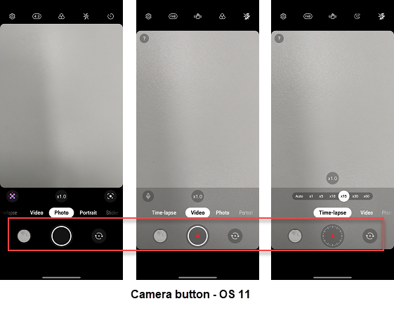 LG Velvet OS 11 Camera screenshot