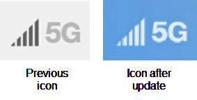 LG WING 5G Icon screenshot