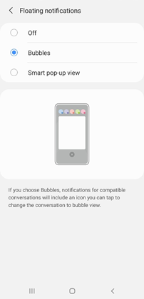 Samsung Galaxy A01 Android OS 11 Update screenshot