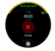 Samsung Galaxy Watch2 Health Function screenshot