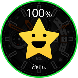 Samsung Galaxy Watch Emotion Elements screenshot
