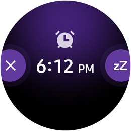 Samsung Galaxy Watch One UI screenshot
