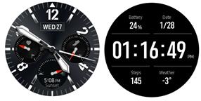 Samsung Galaxy Watch3 Samsung Galaxy Watch3 Always On Display screenshot