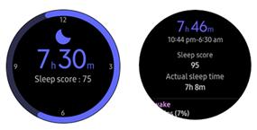 Samsung Galaxy Watch3 Samsung Health screenshot