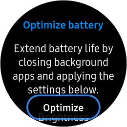 Samsung Galaxy S3 classic Optimized Battery screenshot